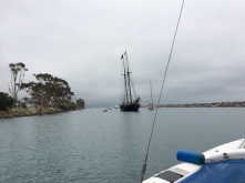 Tall ship in Southern California